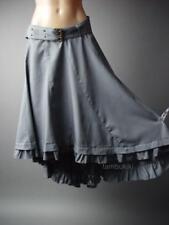Medieval Steampunk Goth Pirate Wench Ruffle Petticoat 236 mv Skirt 1XL 2XL 3XL