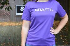 Craft Active COURIR LOGO FEMME COURSE SPORT bikeshirt manches courtes mauve %%%