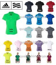 ADIDAS Women's Dri Wick Climalite GOLF Ladies Polo Sport Shirts NEW A131