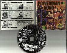 POWERMAN 5000 Tokyo Vigilante / 20 Miles Texas RARE TRK PROMO DJ CD Single 1997