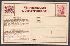 Netherland Indies unused 2c Verhuiskaart