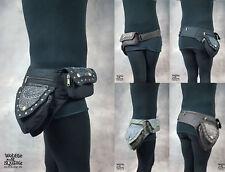 Pixie Cintura Tasca Doppia Hippy PsyTrance Marsupio Soldi Custodia Da Cintura Portafoglio da viaggio