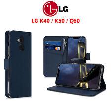 COVER LIBRO A PORTAFOGLIO 360° TOUCH PER LG K40 / K50 / LG Q60