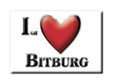 DEUTSCHLAND SOUVENIR - RHEINLAND PFALZ MAGNET BITBURG (EIFELKREIS BITBURG PRÜM)