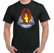 New The Fall Guy Mens Retro 80's TV Show Unisex Adults Black T-Shirt