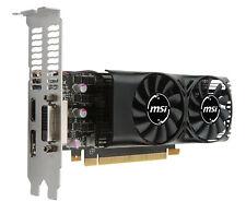 MSI GeForce GTX 1050 TI 4GT LP - VGA - PCI-E x16 (V809-2404R)