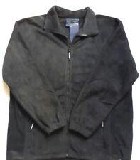 New Metaphor Black Full Zip Fleece Jacket  2XL - 5XL