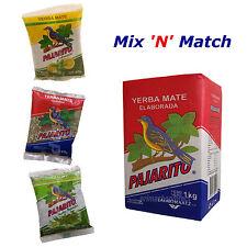 1 kg YERBA MATE PAJARITO ELABORADA TEA plus 40g PACK Mix and Match