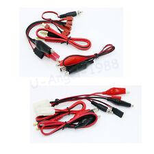 IMAX B6 B6AC/B8 2S-6S Battery Balance Charger Cable  Clips T Plug/Tamiya Plug