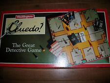 Cluedo Waddingtons 1990 piezas de piezas de repuesto armas tarjetas Movers elegir de la lista