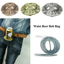 Metal Beer Head Belt Party Funny Bottle Buckle Belt Buckle Beer Holder