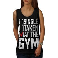 Solo toma Gimnasio Deporte Mujer Camiseta sin mangas Nuevo | wellcoda