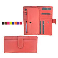 Mujer de cuero billetera cartera largo clutch Embragues Prime Hide 2315 Idea de Regalo