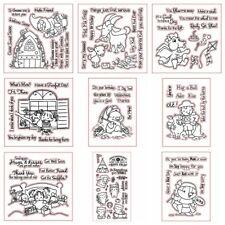 Transparent Silicone Stamp Set for DIY Scrapbooking/Photo Album Cards Decorative