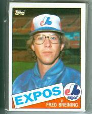 MONTREAL EXPOS ANDRE DAWSON TIM RAINES 1985 TOPPS TEAM SET