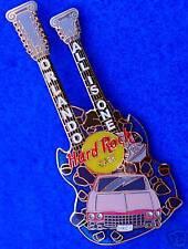 ORLANDO PINK CADILLAC CRASH GIBSON GUITAR GREEK IONIC COLUMN Hard Rock Cafe PIN