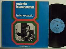ANTONIO BUONOMO disco LP 33 giri STAMPA ITALIANA I miei successi MADE in ITALY
