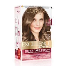 L'Oreal Paris Excellence Creme Hair Color, 6 Natural Light Brown (72ml+100g)