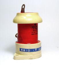 HF/HV-Kondensator, 60 pF / 10 kV, Draloric TC 45x90, NOS
