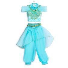 NWT Disney Store Girls Princess Jasmine Halloween Costume Dress 4 5 6 7 8