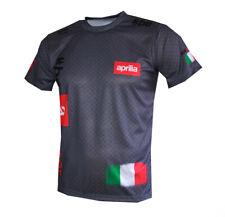 Aprilia Racing Logo Gray unique handmade sublimation graphic men's t-shirt