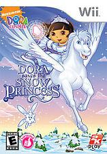 DORA SAVES THE SNOW PRINCESS Nintendo Wii Game