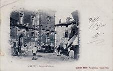 #MARINO:  PIAZZA COLONNA- 1901