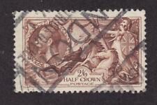 Great Britain Sc 179 used 1919 2sh/6p Seahorses VF