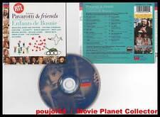 "PAVAROTTI & FRIENDS ""Enfants De Bosnie"" (CD) Bono 1996"
