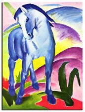 Franz Marc Horse Premium framed Canvas Art Print