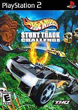 HOT WHEELS STUNT TRACK CHALLENGE --- PLAYSTATION 2 PS2 Complete CIB w/ Box, Manu