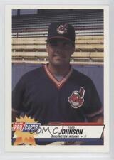 1993 Fleer ProCards Minor League #3301 Todd Johnson Burlington Indians Card