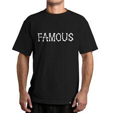NUEVO CON/ Etiquetas Famous Stars & Straps the Remains Camiseta Negro