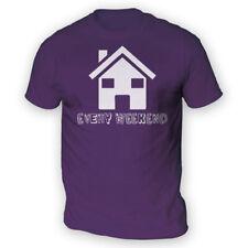 House Every Weekend Mens T-Shirt -x13 Colours- Gift Music Fan Dance Club Euro