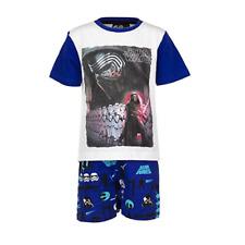 DISNEY pyjama pyjashort pyjacourt STAR WARS 4 6 8 ou 10 ans  bleu  NEUF