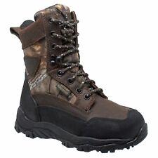 """4648 AdTec, 8"""" Dark Brown Oiled Leather, Waterproof, Children's Hunting Boot"""
