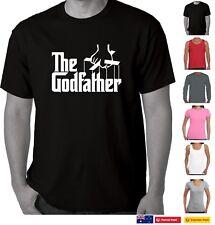 The Godfather 70's retro Funny T Shirts Men's t shirt Mens tee top Mafia crime