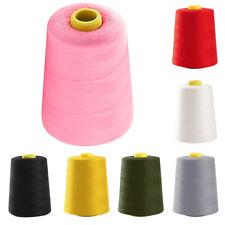 All Purpose Sewing Thread Industrial 8000 Yard Quilting Huge Spools Cones DIY