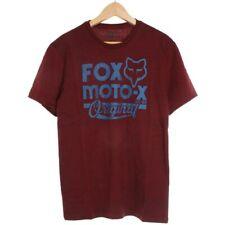 FOX Racing. Fox Racing T-Shirt. FOX tramite Script S/S T-Shirt-Heather Rosso