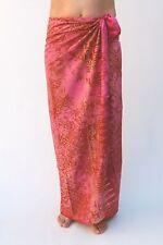 New Premium calidad Rosa Playa sarong Pareo / sa302p