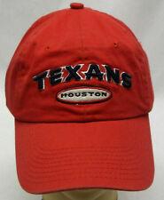 NFL Houston Texans Buckle-Back Cap Hat Curve Brim OSFA NEW!