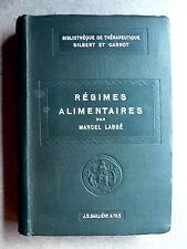 Marcel Labbé RÉGIMES ALIMENTAIRES Baillière et Fils 1910 Nutrition 41 FIGURES