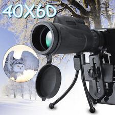 40X60 Zoom Mini HD Telescope Optical Lens Phone Camera Monocular + Clip + Tripod
