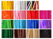 100 x Chenilledraht 0,05 €/St (Pfeifenreiniger) 30 cm/ 6 mm Farbauswahl oder Mix