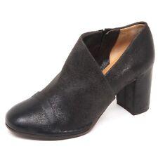 E7728 tronchetto donna dark grey DEL CARLO scarpe vintage effect shoe boot woman