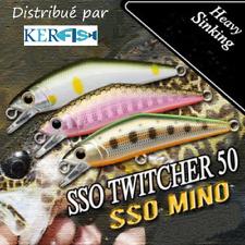 LEURRE POISSON NAGEUR SSO PAYO TWITCHER 50 TRUITE ( TROUT ), PERCHE