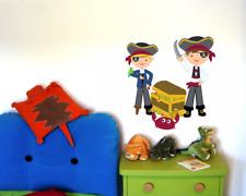 Piraten Wandtattoo Wandaufkleber Kinderzimmer Piratenschiff  2 Größen