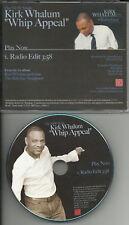 KIRK WHALUM Whip Appeal EDIT PROMO DJ CD babyface TRK