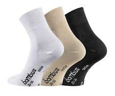 6,9,12,15 Paar Bambussocken Socken Viskose verkürzter Schaft Piqué-Komfortbund