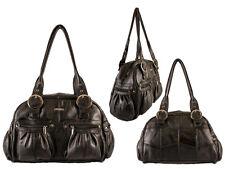 Donna Nuovo Top Qualità Forte Pelle Elegante Borsa a Tracolla Handbag Vari